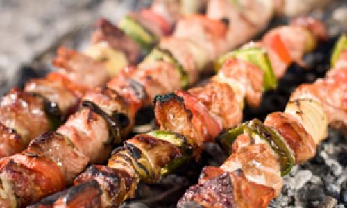 shish-kebab-on-the-barbecue